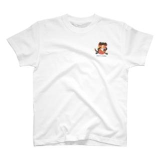 Newt & noodles ワンポイント T-shirts