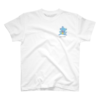 Mouse & medal ワンポイント T-shirts