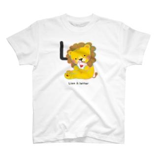 Lion & letter T-shirts