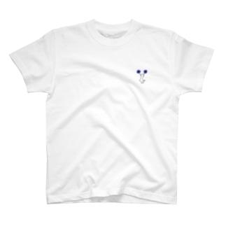チア Cジャンプ ブルー T-shirts