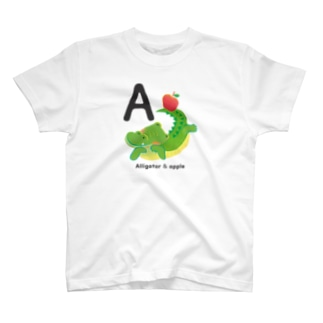 Alligator & apple T-shirts