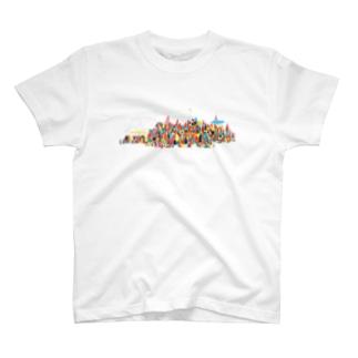 虹の街 T-shirts