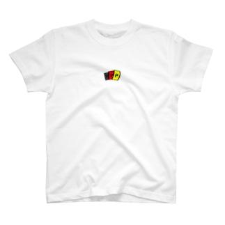 PカードT(中央) T-shirts