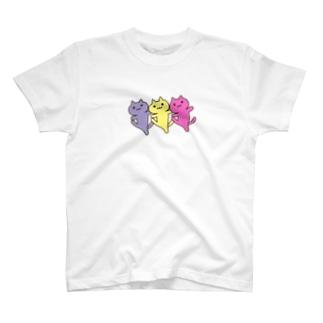 ダンシンにゃーん T-shirts