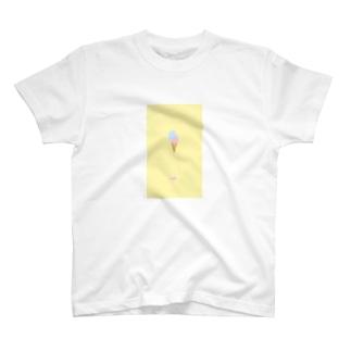 溶けたアイスクリーム T-shirts