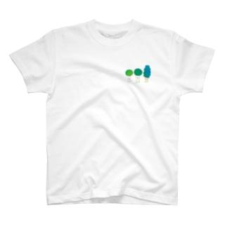 木 木 木 B ワンポイント T-shirts