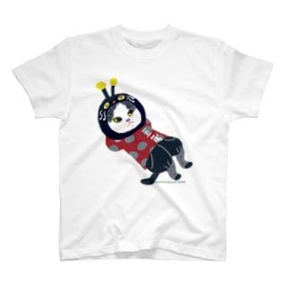 てんとう虫豆蔵 T-shirts
