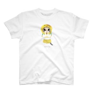 とうもろこし牡丹 T-shirts