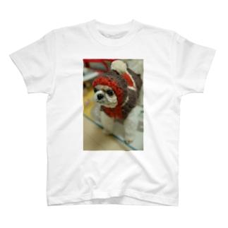かぶり犬 T-shirts