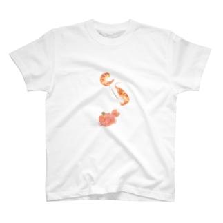 さとろくのえびで視力検査をするかにT T-shirts