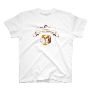 ママンのパンケーキ T-shirts