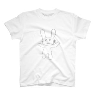 ゆるうさちゃんシリーズ T-shirts