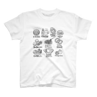 美味しかった旅飯 T-shirts