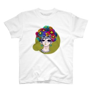 花を纏う。 T-shirts