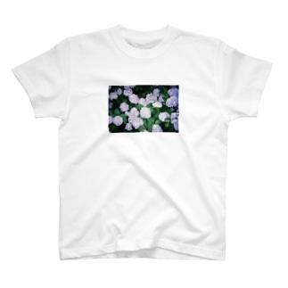 紫陽花2 T-shirts