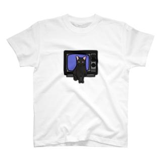 テレビと猫 T-shirts