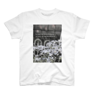 逆境に負けない花ほど美しい T-shirts