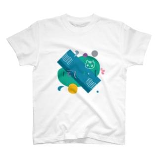 夙川の漢字をデザイン T-shirts