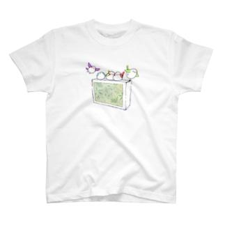 シガーエナガ T-shirts