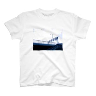 標識の裏側Tシャツ T-shirts