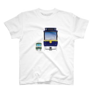 江ノ電 クラシック T-shirts