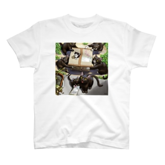 瞬くの店❤️の猫の宅配便 T-shirts