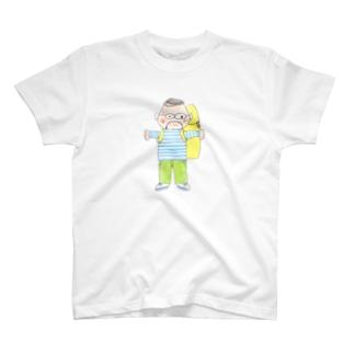 いちげ氏Tシャツ T-shirts