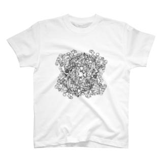 catalase カタラーゼ T-shirts