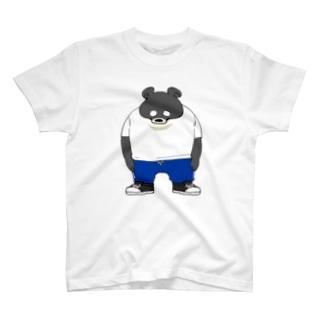 カジュアルツキノワグマ T-shirts