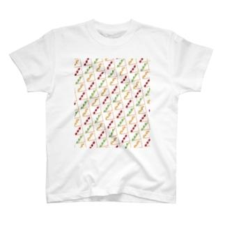 春のフルサンまみれ T-shirts