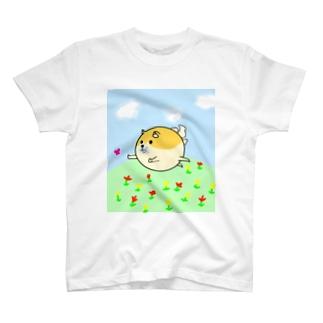 ゆかいな犬シャツ T-shirts