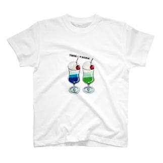 ツインソーダ T-shirts