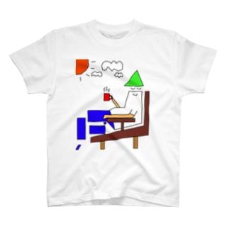 列島くんのひと休み T-shirts