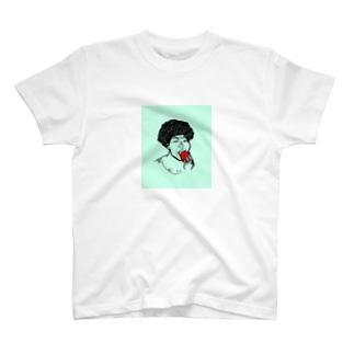 架空人物:きゃんちゃん T-shirts