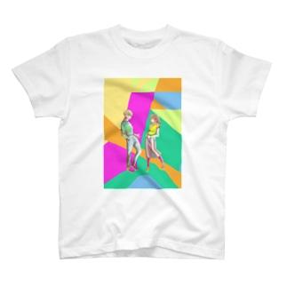ナイーブな2人 T-shirts