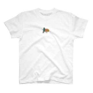 オリエンタルなゾウ② T-shirts