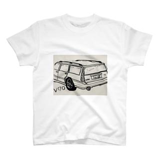 外国のくるま T-shirts