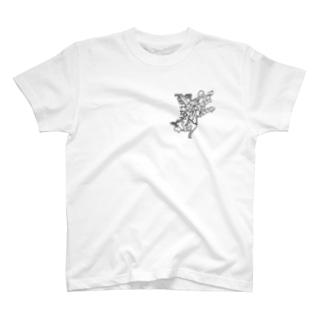 EcoRI 制限酵素 T-shirts