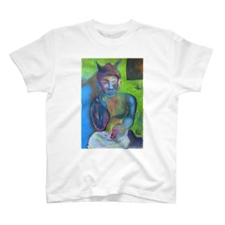弥勒菩薩さま T-shirts