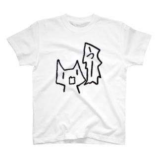 ざつねこちゃん(うー) T-shirts
