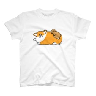 コギちゃんとムギちゃん T-shirts