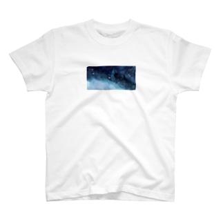 波打つ星雲:海原 T-shirts