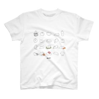 いっぱい毛玉ちゃん T-shirts
