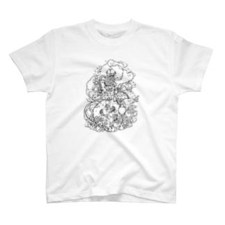イグアナGIRL T-shirts