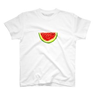 すいかTシャツ T-Shirt