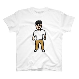その男、穏和につき T-shirts