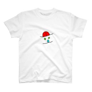 逆から見たらあっかんべー T-shirts