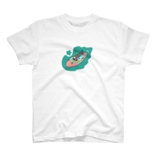 ほらダックスフント可愛い T-shirts