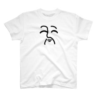 床上浸水ふぇいす T-shirts