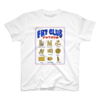 ポテト図鑑 T-shirts
